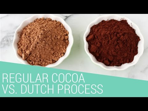 Natural Cocoa vs. Dutch Process Cocoa Powder EXPLAINED