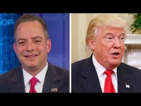 Reince Priebus named as Trump