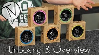 "New Proto ""Day-Glo"" Series Wheels - Unboxing and Overview │ The Vault Pro Scooters"