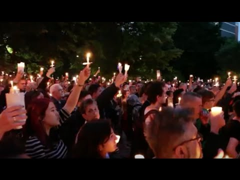 Toronto Vigil For Victims Of Orlando Attack