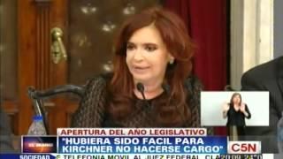 C5N - POLITICA: DISCURSO DE CRISTINA KIRCHNER | RESUMEN