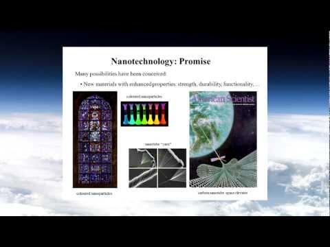 Michael Woodside Promise and Perils of Nanotechnology Part I LABMP 590 Winter 2013