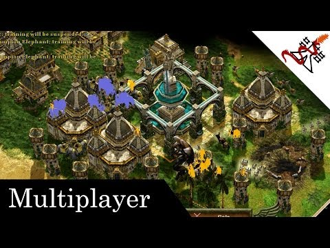 Age Of Mythology Extended Edition - 11 Players Free For All | Supremacy | Multiplayer [1080p/HD]
