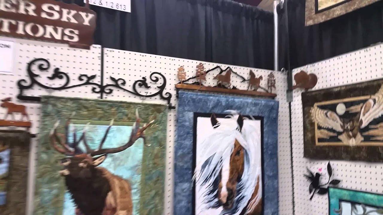 Quilt Hangers Metal Art a Wonderful Idea! - YouTube : quilt hangers metal - Adamdwight.com