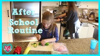 Hope's after school routine, winter edition for 2016.