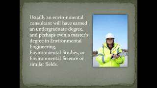 What Does An Environmental Consultant Do