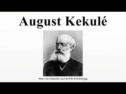 August Kekulé By Wikiaudio