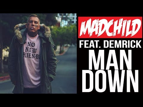 Madchild - Man Down Featuring Demrick  from Serial Killers (Official Music Video)