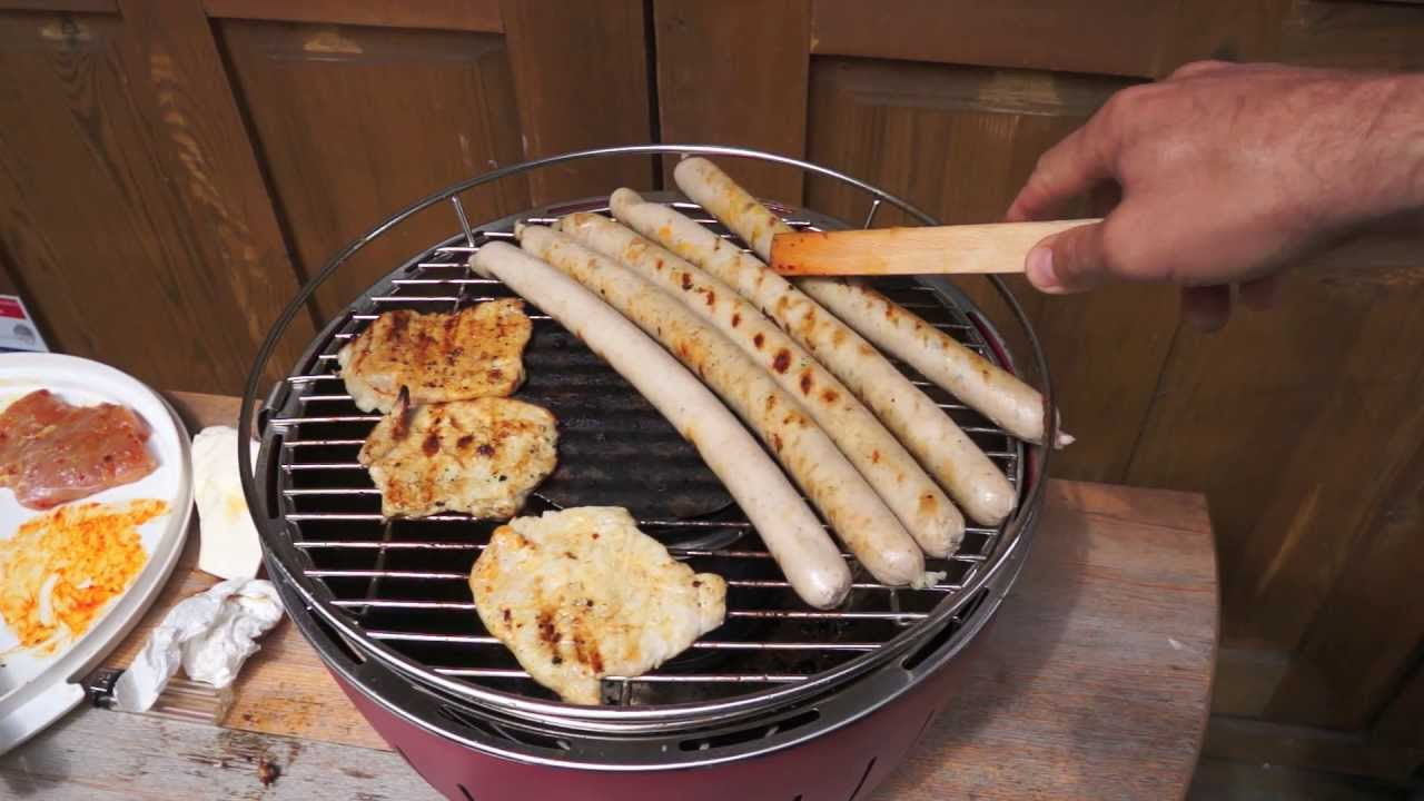 Florabest Holzkohlegrill Xl : Part #2 grillen mit dem lotus grill barbeque with lotus grill