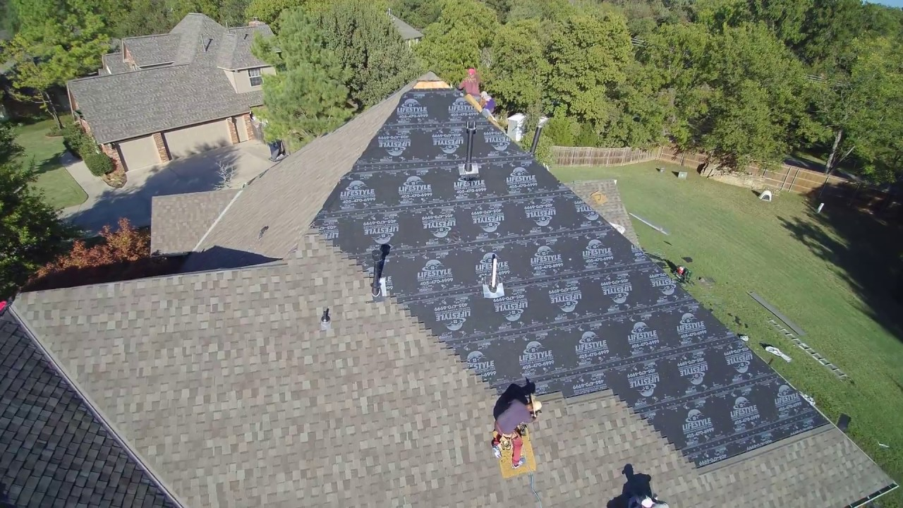 Roofing In Moore Oklahoma Youtube