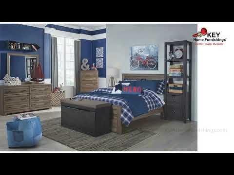 Ashley Javarin 40inch Upholstered Bench B171 209 Key Home Youtube