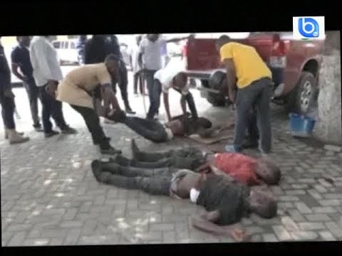 Good show !!! Ghana police gun down 3 armed robbers in Accra
