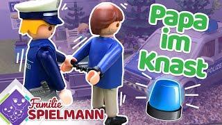 VERHAFTET !!! Wieso kommt Klaus Spielmann ins Gefängnis? Playmobil Polizei Geschichten für Kinder