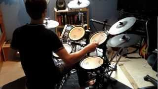 Repeat youtube video Dragonforce - Cry Thunder (Drum Cover) by Nick Thomassen