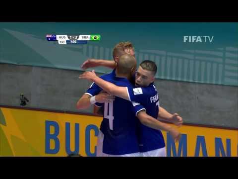 Match 20: Australia v Brazil - FIFA Futsal World Cup 2016