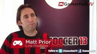 EA Sports Producer Scores with Preview of FIFA Soccer 13 on Nintendo Wii U