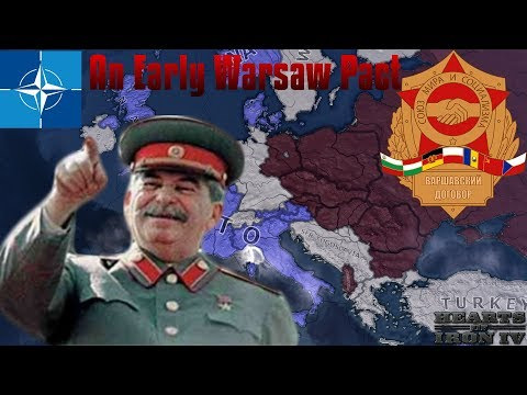 Stalin establishes the Warsaw Pact by 1939! | Hearts of Iron IV Stalinseries