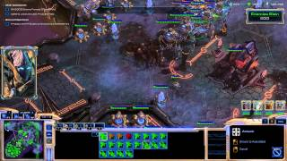 Starcraft 2 Walkthrough In Utter Darkness Brutal 3600+ kills