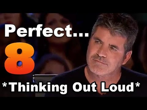 THINKING OUT LOUD VOICE? BEST *THINKING OUT LOUD* COVERS, SONGS on THE VOICE, GOT TALENT Ed Sheeran