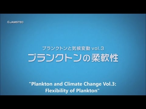 Plankton and Climate Change Vol.3: Flexibility of Plankton