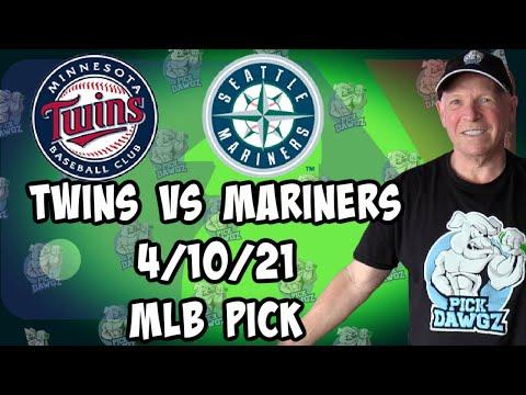 Minnesota Twins vs Seattle Mariners 4/10/21 MLB Pick and Prediction MLB Tips Betting Pick