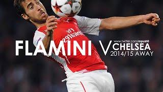 Mathieu Flamini vs Chelsea (away)