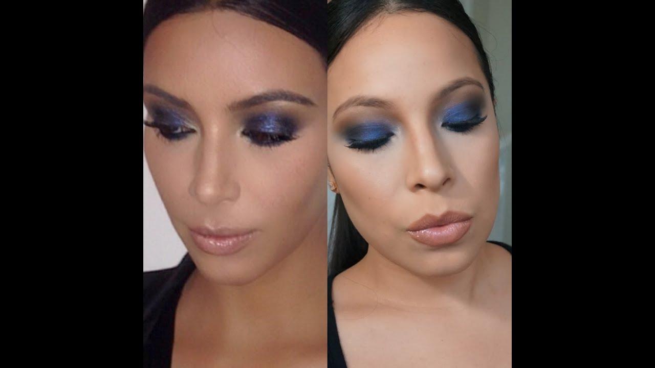 kim kardashian brown smokey eye makeup wwwpixsharkcom