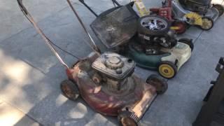 Trash Hauls Mid June - Mowers, Dyson Vacuums, Edger etc