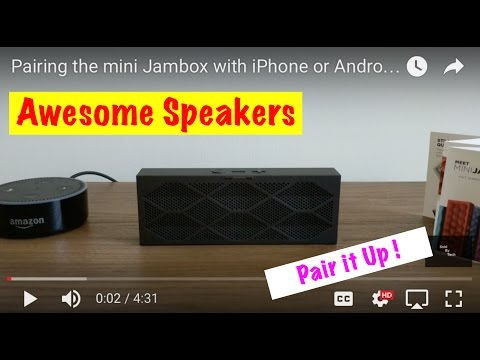 Pairing The Mini Jambox With Iphone Or Android Filming With Pixel Xl