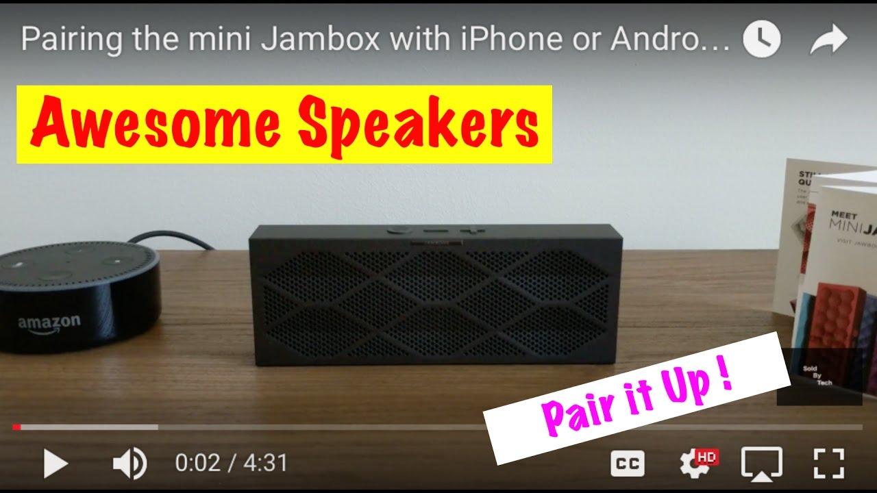 Pairing The Mini Jambox With Iphone Or Android Filming With Pixel