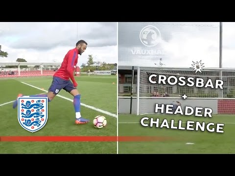 Crossbar + header challenge - England U21 | Inside Training