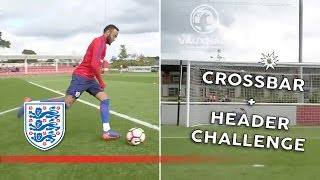 Crossbar + header challenge - England U21 | Inside Training