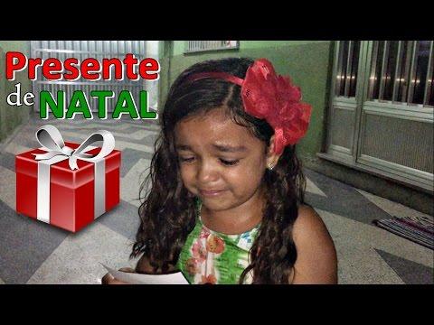 PRESENTE DE NATAL - MUITA EMOÇÃO