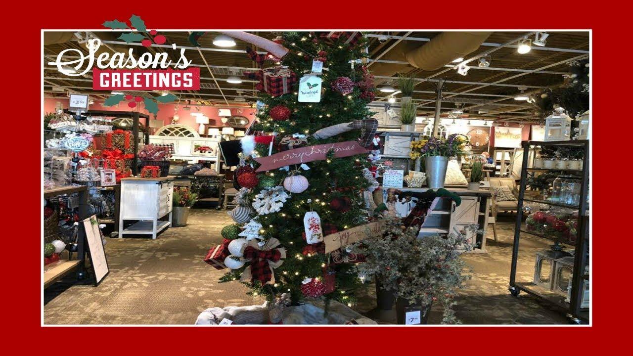 Christmas Decor Shopping At Kirkland\'s! - YouTube