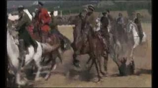 "Buzkashi dans le film ""Les Cavaliers"" de John Frankenheimer"