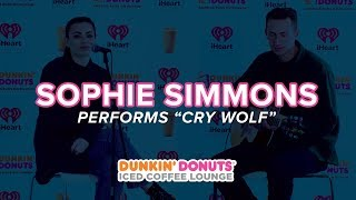 Sophie Simmons Performs Cry Wolf Live DDICL