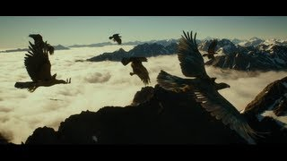 The Hobbit: The Eagels Rescue and Flight Scene - Unreleased Track [HD/HQ]