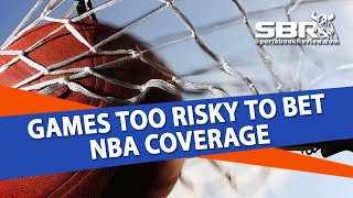 NBA Betting Picks | Games Too Risky to Bet | Weekend Playoff Games