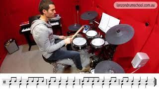 Summary Reading Exercise 1 - Eighth & Quarter Notes - Lanzon Drum School Unit 1 Book