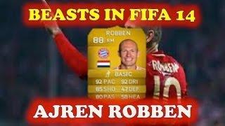 BEASTS IN FIFA 14 #1 - ARJEN ROBBEN 88! - FIFA 14 ULTIMATE TEAM