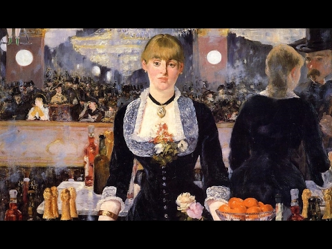 Erik Satie : Gnossienne No.1. Edouard Manet : Paintings.
