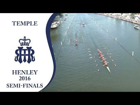 Harvard v California Berkeley | Semi-Finals Day Henley 2016 | Temple