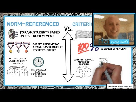 Criterion Vs Norm Referenced Assessment: Examples & Evaluation