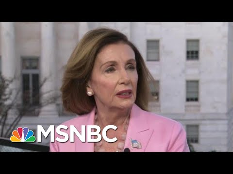Pelosi: Trump Used Taxpayer Money To Shake Down Leader For His Own Gain | Morning Joe | MSNBC
