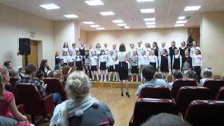 """OST """"Хористы"""", хор Ветрык, школа искусств №1, Минск"""