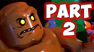 LEGO DC SUPERVILLAINS - PART 2 - CLAY FACE! (HD)