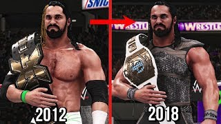 All Seth Rollins Championship Wins In WWE! ( 2012 - 2018 )