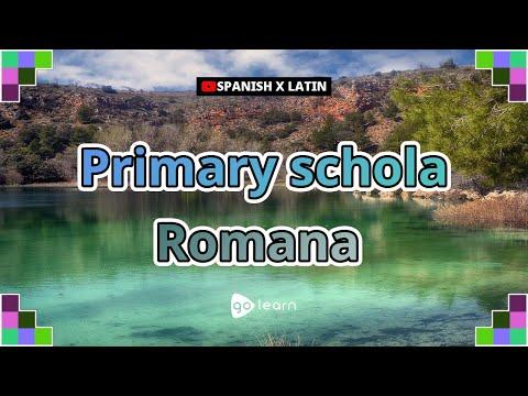 Primary schola Romana