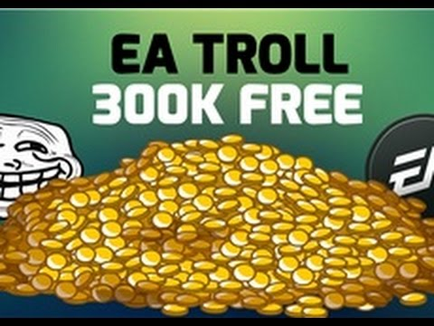 Earn Free 300K Coins From EA | EA Troll