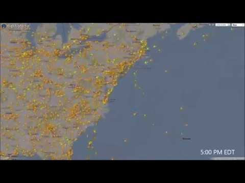 Real-Time Air and Marine Traffic   Postscapes